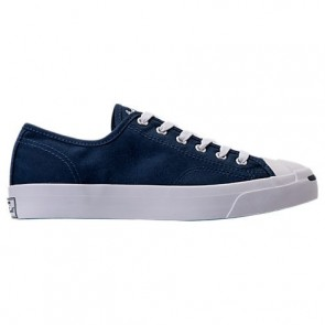 Navy / Blanc (Femmes, Hommes) Converse Jack Purcell Low Top Chaussures de running 157783C