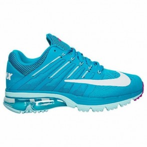 Bleu Lagoon / Blanc / Copa Femme Nike Air Max Excellerate 4 Chaussures de course 806798 400