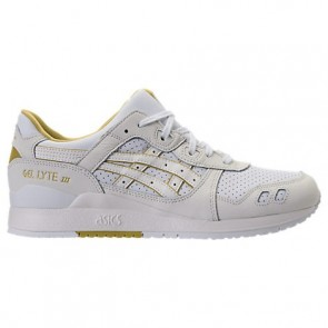 Asics Gel-Lyte III Hommes Chaussures H7L3L 100 Blanc, Crème