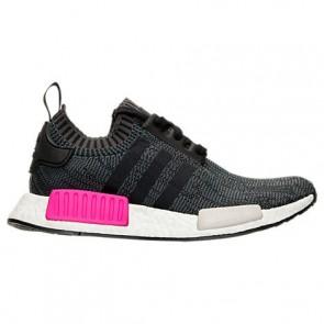 Noir / Rose choc Femme Adidas NMD R1 Primeknit Chaussures BB2364