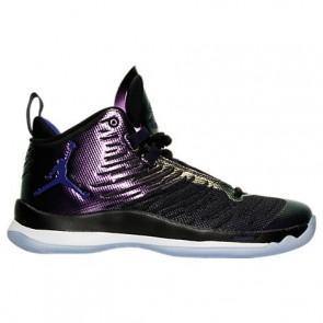 Air Jordan Super.Fly 5 Hommes Chaussure de basketball 844677 012 Noir / Concorde / Blanc