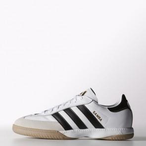 Adidas Soccer Samba Millennium Cuir IN Homme Chaussures de course - Running Blanc 661694