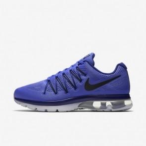 Hommes Nike Air Max Excellerate 5 Bleu moyen / Bleu Royal Profond / Platine pure / Noir Chaussures de course 852692-401