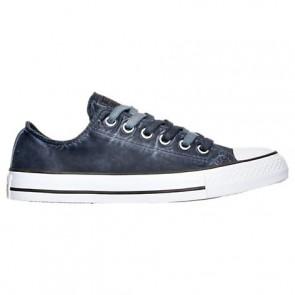 Converse Chuck Taylor OX Femme Chaussures Noir / Noir / Blanc 155390C BLK