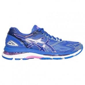 Bleu Pourpre / Violet / Airy Bleu Femme Asics GEL-Nimbus 19 Chaussures de course T750N 483