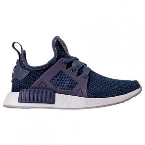 Femme Trace Bleu / Blanc Chaussures Adidas NMD XR1 Chaussures BY9819