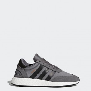 Gris, Core Noir, Running Blanc Hommes Adidas Originals Iniki Runner Chaussures BY9732