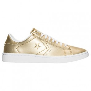 Doré / Doré Converse Chuck Taylor OX Femme Chaussures 555946C 710