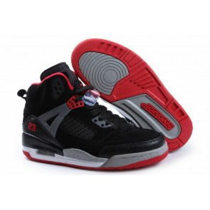 Femme Chaussures Air Jordan 3 Noir, Rouge, Gris