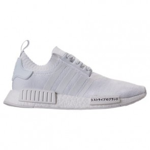 Triple Blanc Adidas NMD Runner R1 Primeknit Hommes Chaussures de course BZ0221