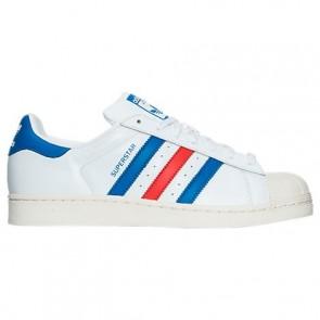 Adidas Superstar Hommes Chaussures - Blanc / Bleu / Rouge BB2246
