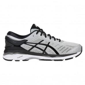 Asics GEL-Kayano 24 Homme Chaussures - Argent, Noir, Gris moyen