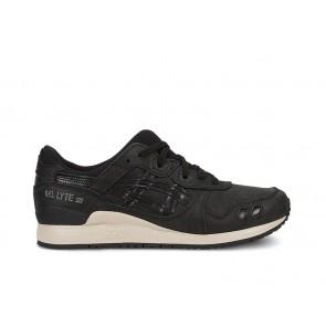 Asics Femme GEL-Lyte III Noir / Noir Chaussures de course