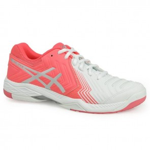 Chaussures de sport Asics Gel Game 6 Femme Blanc, Diva Rose, Argent