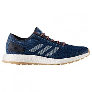 Homme Adidas Pure Boost Legend Ink / Craie Blanc Chaussures de course S81993