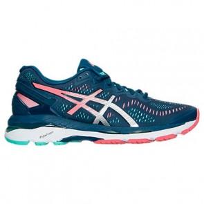 Chaussures de course Asics Gel Kayano 23 Femme Poséidon / Argent / Cacatoès T696N 589