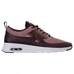 Port Vin / Acajou métallique Nike Air Max Thea Knit Femme Chaussures AA1109 600