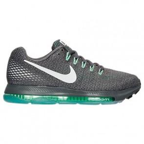 Chaussures de course Nike Zoom All Out Low 878671 003 Femme Gris foncé / Blanc / Vert / Noir