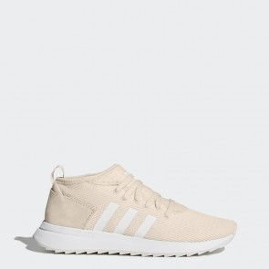 Lin / Lin / Running Blanc Femme Adidas Originals Flashback Des chaussures d'hiver BY9642