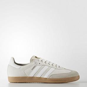 Adidas Originals Samba OG Hommes Chaussures Blanc, Gris clair BZ0064