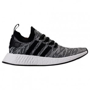 Chaussures Adidas NMD R2 Primeknit Hommes Core Noir / Blanc BY9409