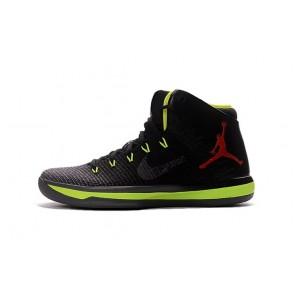 Nike Air Jordan XXXI J31 Hommes Chaussures de running Noir & Vert