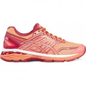 Asics GT 2000 5 Orange, Rouge Femme Chaussures de course