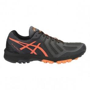 Hommes Asics Gel-Fujiattack 5 Chaussures Gris foncé, Orange, Noir