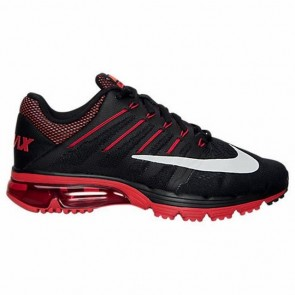 Hommes Chaussures de course Nike Air Max Excellerate 4 Noir, Blanc, Université Rouge, Brillant Citrus 806770 066