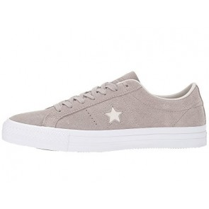 Homme Converse Skate One Star Pro OX Chaussures Malté, Pale Putty, Blanc
