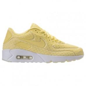 Nike Air Max 90 Ultra 2.0 BR Homme Chaussures 898010 700 Mousseline de citron, Sommet blanc