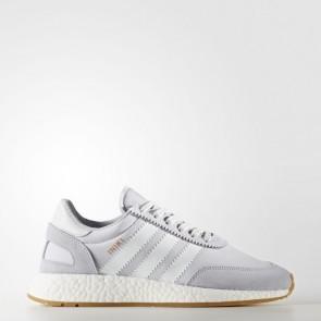 Femme Adidas Originals Iniki Runner Gris / Running Blanc Chaussures de sport BY9093