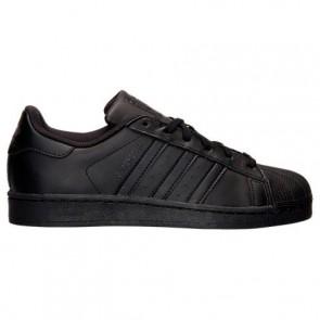Hommes Adidas Superstar Noir / Noir / Noir Chaussure AF5666