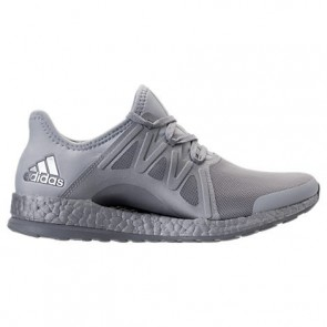 Chaussures de course Adidas Pure Boost Xpose LTD Femme Gris clair / Blanc / Gris moyen S82066