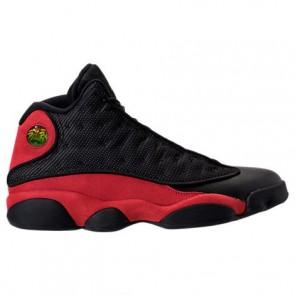 Homme Air Jordan Retro 13 Chaussure de basket Noir / Vrai Rouge / Blanc 414571 004