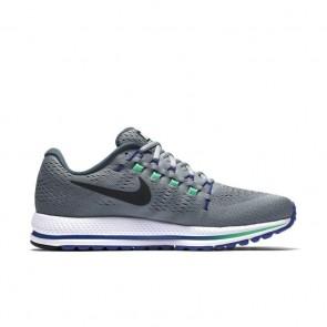 Hommes Chaussures de course Nike Air Zoom Vomero 12 Stealth / Noir / Renard bleu / Électro vert 863762-004