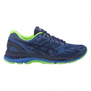 Asics Gel-Nimbus 19 Lite-Show Hommes Bleu / Directoire Bleu / Réfléchissant Vert Chaussures