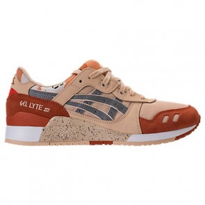 Hommes Asics Gel-Lyte III Chaussures de course H7YOL 059 Camo, Marzipan, Argent