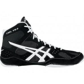 Asics Cael V6.0 - Chaussures de lutte Homme Noir / Argent TAOO7