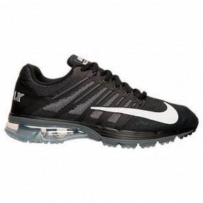Noir / Blanc / Gris foncé Hommes Nike Air Max Excellerate 4 Chaussures de course 806770 010