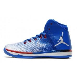 Nike Air Jordan XXXI J31 Homme Chaussure de basketball - Borland Blanc