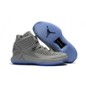 "Air Jordan 32 (XXXII) Hommes Basketballl Chaussures ""Wolf Gris"""