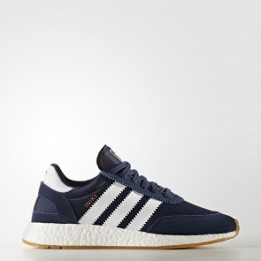 Adidas Originals Iniki Runner Homme Chaussures Marine collégiale, Running Blanc BY9729