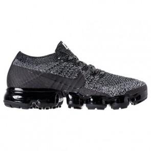Femme Nike Air VaporMax Flyknit Chaussures de course Noir / Blanc / Racer Bleu 849557 041