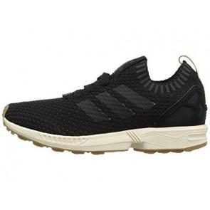 Adidas Originals ZX Flux Primeknit Homme Core Noir / Core Noir / Gomme