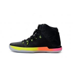 Nike Air Jordan 31 Femme J31 Noir, Jaune, Rouge Chaussure de basketball