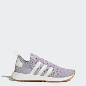 Pourpre, Blanc, Bleu tactile Femme Adidas Originals Flashback Primeknit Chaussures de running BY9103