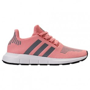 Trace Rose / Blanc Femme Adidas Swift Run Chaussures CG4139