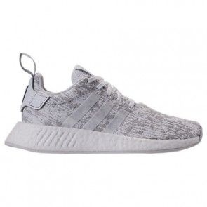Femme Blanc / Gris Chaussures Adidas NMD R2 BY8691
