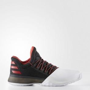 Homme Adidas Chaussure de basketball Harden Vol. 1 Core Noir, Cramoisi, Running Blanc BW0546